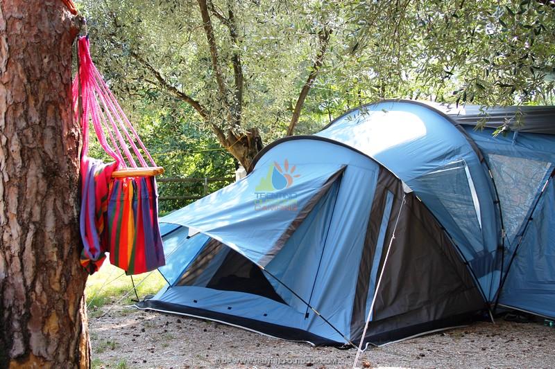 weekend camping garda
