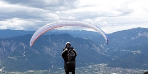 Paragliding and air sports in Trentino