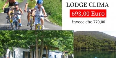 Offerta prima settimana di Luglio al Lago di Levico!