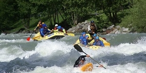Rafting en Kanovaren in Val di Sole
